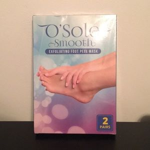 O'Sole Smooth Exfoliating Foot Peel Mask 2 Pairs